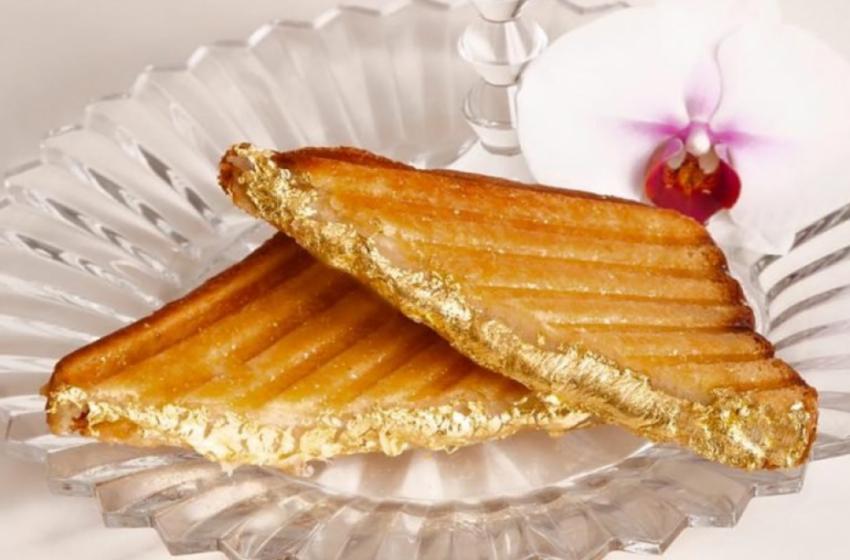Ավելի քան 200$. ռեստորանը մատուցում է ամենաթանկարժեք սենդվիչը` ոսկեպատ հացի կտորներով (Տեսանյութ)