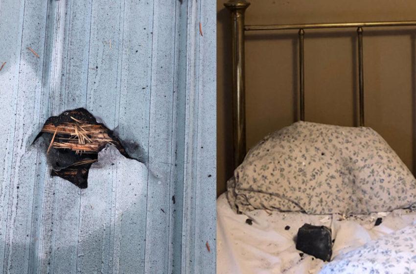 Կանադայում երկնաքարն ընկել է քնած կնոջ բարձի վրա