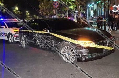 Արտակարգ դեպք՝ Երևանում. անչափահասը՝ առանց համարանիշների BMW-ով Պուշկինի փողոցում 8 ավտոմեքենայի է հարվածել